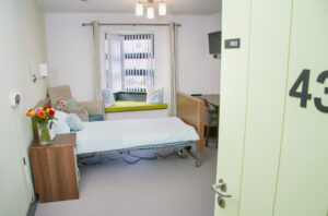 Haven Court has comfortable private rooms